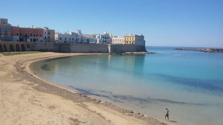 Spiaggia della Purità a Gallipoli